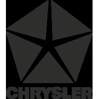 Sticker Chrysler Logo Simple