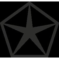 Sticker Chrysler Logo 2