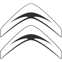 Sticker Citroen Logo Simple