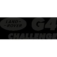 Sticker Land Rover G4 Challenge