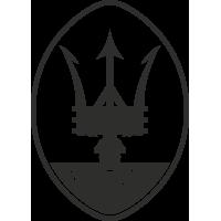 Sticker Maserati Logo