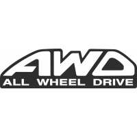 Sticker Subaru Awd