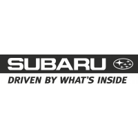 Sticker Subaru Driven