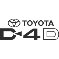 Sticker Toyota D4d