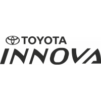 Sticker Toyota Innova