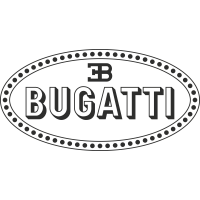 Sticker Bugatti Logo 3