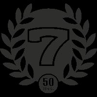 Sticker Caterham 50 Ans