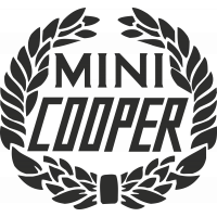 Sticker Mini Cooper Logo