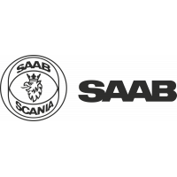 Sticker Saab Scania