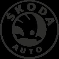 Sticker Skoda Logo 2