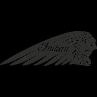 Sticker Indian Droite