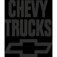 Sticker Chevy Trucks