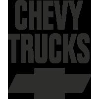 Sticker Chevy Trucks 2