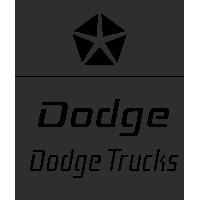 Sticker Dodge Truck