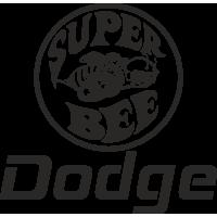 Sticker Dodge Truck Super Bee