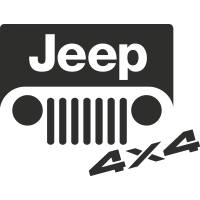 Sticker Jeep 4x4