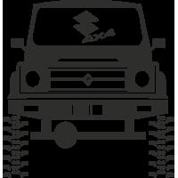 Sticker Suzuki 4x4 2