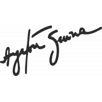 Sticker Senna Signature