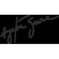 Sticker Senna Signature