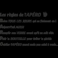 Sticker Les Règles De L'apéro