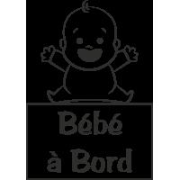 Sticker Bébé à Bord Bébé 2