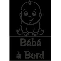 Sticker Bébé à Bord Bébé 3
