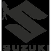 Sticker Sexy Logo  Suzuki