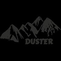 Sticker Montagne Duster