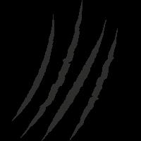 Sticker Griffure 2