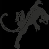 Sticker Panthère