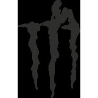 Sticker Monster Pin Up