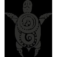 Sticker Tortue Tribal 2
