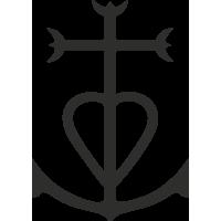 Sticker Croix De Camargue 1