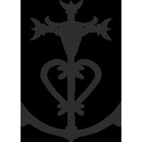 Sticker Croix De Camargue 2