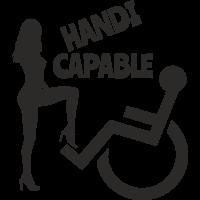 Sticker Handicapé Capable
