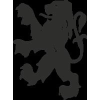 Sticker Logo Peugeot 1970