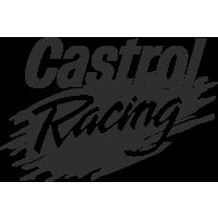Sticker Logo Castrol Racing