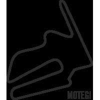 Sticker Circuit Motegi