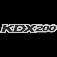 Sticker KAWASAKI KDX 200