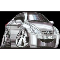Autocollant 1454-Peugeot 307