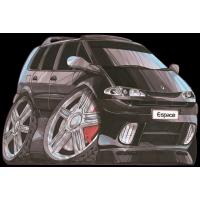 Autocollant 1542-Renault Espace