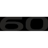 Sticker TESLA 60