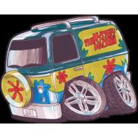 Autocollant 1606-scooby Van
