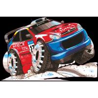 Autocollant 1619-Citroen-Xsara-Rally