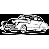 Sticker BUICK Car 3