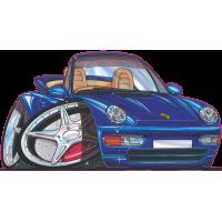 Autocollant 173-Porsche-911