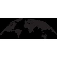 Sticker Monde Mappemonde Globe 3