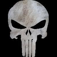 Sticker Punisher Métal