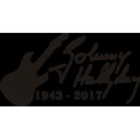 Sticker Johnny Hallyday 8