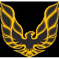 Autocollant Phoenix Flammes